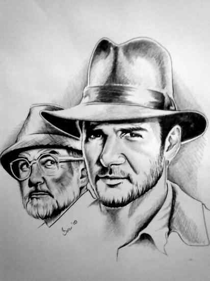 Sean Connery, Harrison Ford par burcu